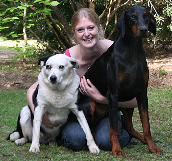 Georgina and her Dogs